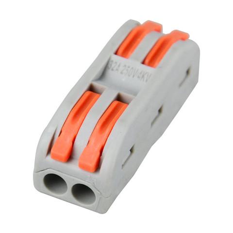 ZBKBO SPL-2 二进二出连接器 10只
