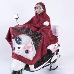 走飞丫 电动车摩托车雨衣成人骑行户外加厚牛津布雨披自行电瓶车雨衣