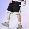 EPTISON 衣品天成 BMK028B 男款宽松直筒休闲短裤