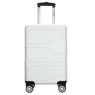 Diplomat 外交官 商务万向轮拉杆箱旅行箱TSA密码箱行李箱 TC-6903白色24英寸