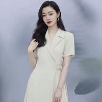Lily  120340C7614128 短袖西装连衣裙