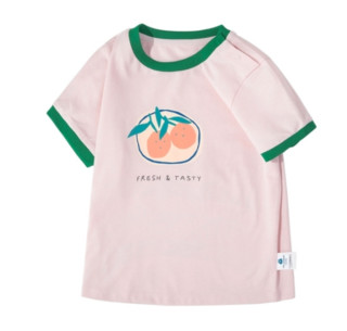 Mini Balabala 迷你巴拉巴拉 女童水果短袖T恤