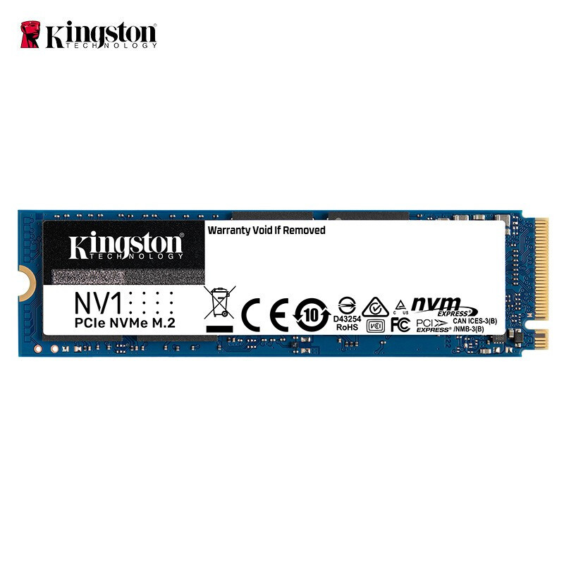 Kingston 金士顿 NV1系列 M.2 NVMe 固态硬盘 500GB