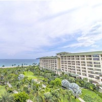 三亚天域度假酒店 清新高级海景双床房2晚连住 含早餐+椰子鸡火锅