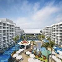 三亚亚龙湾迎宾馆 庭院家庭小套房2晚连住 含早餐+海蓝海底餐厅双人海鲜自助晚餐