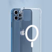 PLUS会员:A Little Flower 一朵小花 iPhone11 Pro MAX 透明磁吸保护壳