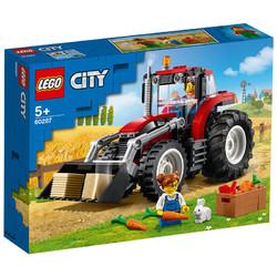 LEGO 乐高 城市系列 60287 拖拉机