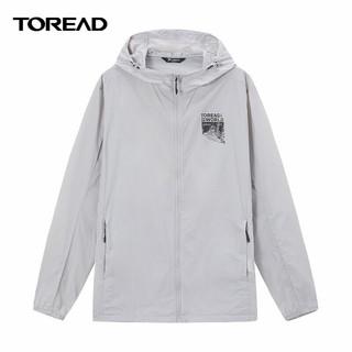 TOREAD 探路者 探路者皮肤衣男TOREAD21春夏户外运动防晒透气休闲夹克TAZJ81725