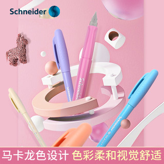 Schneider 施耐德 德国进口schneider施耐德钢笔BK402可替换墨囊三年级中小学生专用儿童女正姿练字特细0.35/0.5mmEF尖