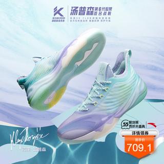 ANTA 安踏 安踏kt6low篮球鞋男2021夏季新款汤普森实战低帮透气球鞋运动鞋男