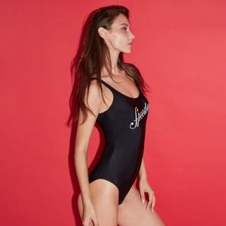 SPEEDO 速比涛 海岸线系列 女式泳衣 8-10943 34 黑色