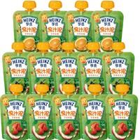 Heinz 亨氏  婴儿辅食果泥 便携28袋
