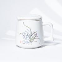 xigu 熹谷  陶瓷同心兰杯三件套  350ml