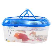 易萌 透明塑料鱼缸 20*13.5*13cm