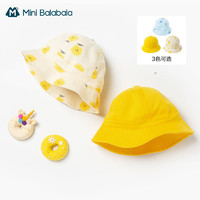 Mini Balabala 迷你巴拉巴拉 儿童全棉印花帽子