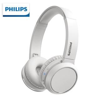 PHILIPS 飞利浦 飞利浦/PHILIPS H4205白 无线蓝牙耳机头戴式耳麦 办公教育网课学习音乐游戏竞技线控带麦听力耳机