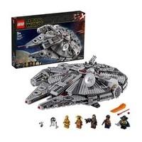 黑卡会员:LEGO 乐高 星球大战系列 75257 千年隼