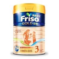 Friso 美素佳儿 金装系列 幼儿奶粉 国行版 3段 900g