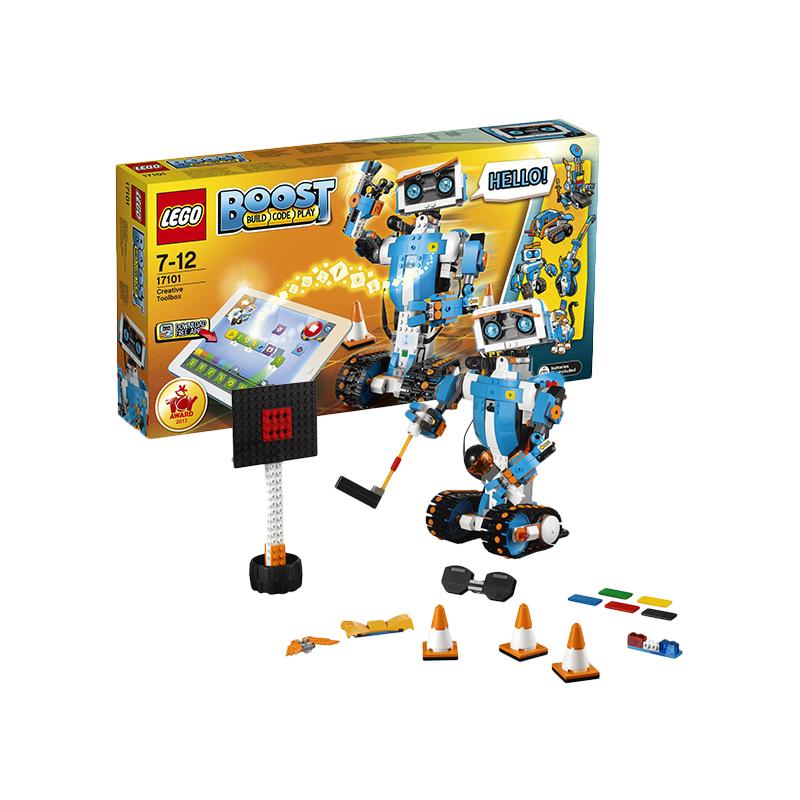 再降价、黑卡会员 : LEGO 乐高  Boost系列 17101 可编程机器人Boost