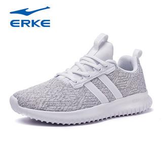 ERKE 鸿星尔克 鸿星尔克女鞋新款休闲运动鞋女休闲鞋轻便综训鞋时尚超弹