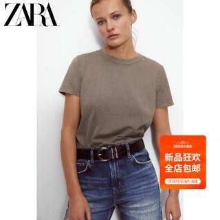 ZARA  女装 短袖 T 恤 04424232700