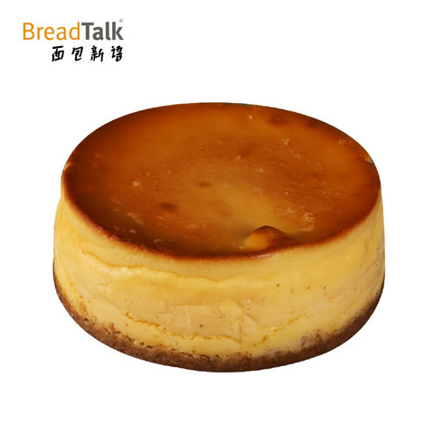 面包新语 (BreadTalk)甜品 巴斯克芝士蛋糕礼盒5英寸 聚会 下午茶