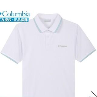 Columbia哥伦比亚POLO衫男士春季新款户外运动休闲时尚商务速干衣短袖翻领T恤上衣AE0414 AE0414100 L 180/100A