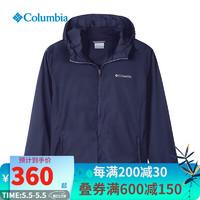 Columbia 哥伦比亚 Columbia哥伦比亚皮肤衣男士2021春季新款户外运动休闲舒适透气时尚防风防泼水外套PM4927