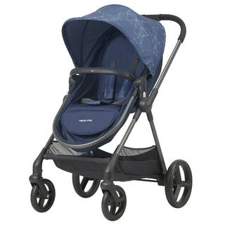 hd 婴儿推车 双向推行前轮避震 高景观婴儿车 蓝色 LC710-S179B