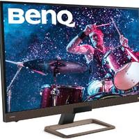 BenQ 明基  EW3280U 31.5英寸 HDRI IPS显示器(3840x2160、5ms、2xHDMI、DP、Type-C、4K)