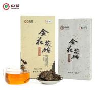 PLUS会员:Chinatea 中茶 中茶安化黑茶金花茯砖  800g