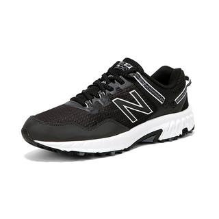 new balance New Balance男女鞋复古鞋NB休闲透气运动鞋户外情侣跑步鞋 MT410系列 黑白色MT410RB6