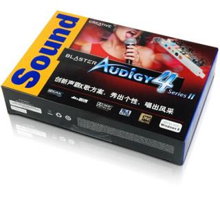 CREATIVE 创新 Sound Blaster Audigy 4 II 内置声卡