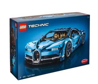 LEGO 乐高 Technic科技系列拼插积木玩具汽车模型礼物 42083 布加迪奇龙