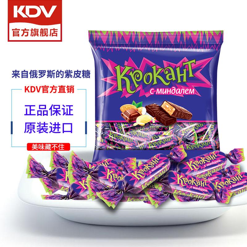 KDV 俄罗斯巧克力 紫皮糖 500g