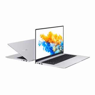 HONOR 荣耀 MagicBook Pro 2020款 16.1英寸 轻薄本 冰河银(酷睿i5-10210U、MX350、16GB、512GB SSD、1080P、IPS、HBB-WAH9PHNL)