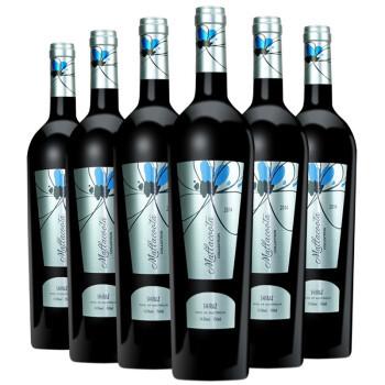 进口红酒整箱 干红葡萄酒14.5度西拉子 澳大利亚原瓶进口澳洲红酒750ML*6瓶