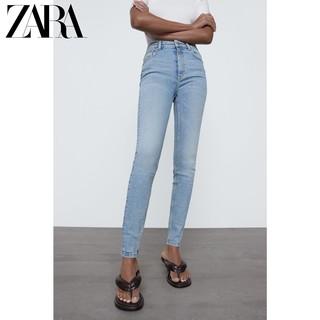 ZARA   09374023407 女士高腰牛仔裤