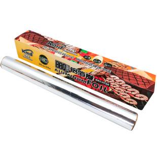 肯麦多锡纸厨房烤箱空气炸锅家用烘培烧烤盘铝箔纸经济装商用大卷