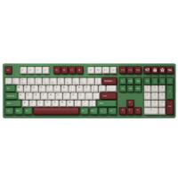 31日0点、学生专享:Akko 艾酷 3108 V2 红豆抹茶 机械键盘 108键 Gateron粉轴