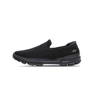 SKECHERS 斯凯奇  54057-BBK 男款一脚蹬休闲鞋