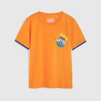 Baleno 班尼路 [超级飞侠IP]班尼路童装2021夏季新款男童短袖t恤夏印花纯棉上衣