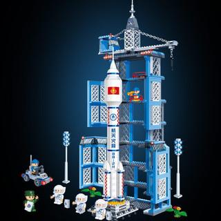 BanBao 邦宝 太空系列 6401 神舟十号火箭模型