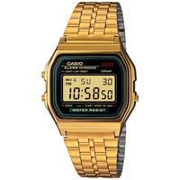 Casio 卡西欧 Men's Digital Vintage Gold-Tone Stainless Steel Bracelet Watch 39x39mm A159WGEA-1MV