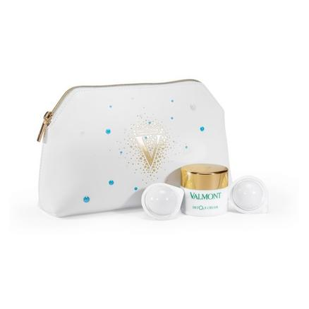 VALMONT 护肤套装(健肤焕颜轻感注氧净化面霜 45ml+幸福面膜2ml*2+化妆包)
