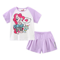 My Little Pony 小马宝莉 女童短袖套装