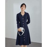 PLUS会员:FANSILANEN 范思蓝恩 Z210217 女士气质连衣裙