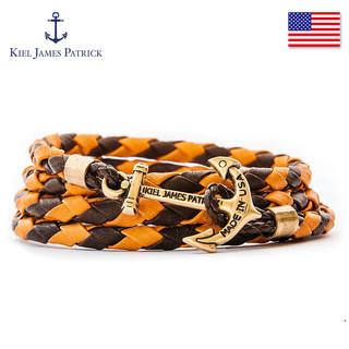 Kiel James Patrick KJP美国进口欧美手工编织船锚手链男潮流男士手绳女学生闺蜜礼物