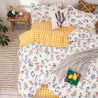 pierre cardin 皮尔·卡丹 皮尔卡丹床上套件四件套印花亲肤单双人被套床单床上用品三件套
