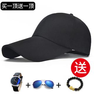 帽子男士夏天棒球帽休闲韩版潮人防晒遮阳帽百搭女青年鸭舌太阳帽